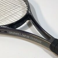 Prince Graphite Comp XB Oversize Tennis Racket Grip Sz 4 1/2 New Head Grip Nice!
