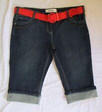 George Cotton Plus Size Capri, Cropped Jeans for Women