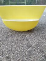 Antique Fire King Pyrex YELLOW Refrigerator Baking Dish Bowls SET of 2 ❤️ ts17j