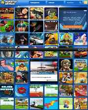 Ready To Run Arcade Gaming Website For Sale