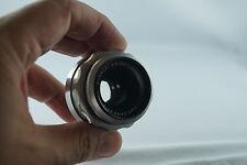 Carl Zeiss Jena Tessar 50 2.8 lens Germany for Exakta EXA mount