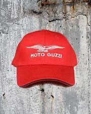Moto Guzzi Eagle Cap/Hat...Sandwich Bill RED and BLACK  CP85