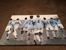 "Manchester City Legends Canvas Print (26""x18"")"