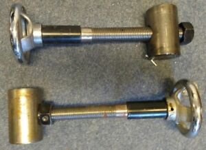 A Pair of Top Beam Pivots for Carter VH Box and Pan Folder