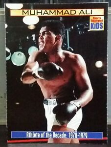 Muhammad Ali card Sports Illustrated for Kids #873