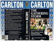 CARLTON: THE GATHERING STORM, 1992  *RARE VHS TAPE*