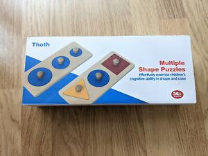 Montessori Multiple Shape Puzzle