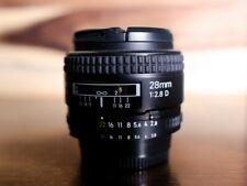 Nikon Nikkor 28mm F2.8 AF Lens