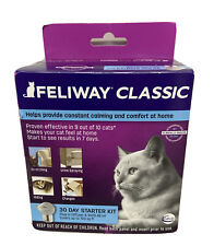 Feliway Classic 30 Day Starter for Cats Plug In Diffuser & Refill 48 ml Sealed
