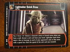 Star Wars TCG ROTS Lightsaber Quick Draw