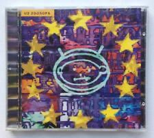 U2 Zooropa CD Album 1993 record rock alternative Canadian Print CANADA Island