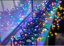 960 LED Christmas Cluster String Fairy Xmas Tree/ 8 Multi Functions  Lights