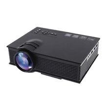 UC40+ 2000 Lumens HD 1080P LED Projector 3D HDMI Mini Home Theater TV USB VGA