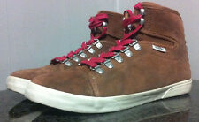 Van's Women's size 9 Off the Wall No. 08-2982 Tie Brown skateboard shoes ~269