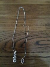 14 Carat White Gold VS1 Fine Diamond Necklaces & Pendants
