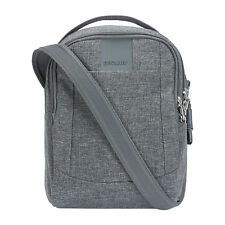 PacSafe Metrosafe LS100 AntiTheft CrossBody Bag Dark Tweed 30400123