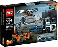 LEGO Technic Container Yard 2017 (42062) Building Kit 631 Pcs