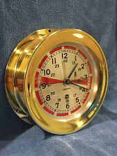 *Fully Restored* 1935 Chelsea Radio Room Clock *Rare* 11E Movement Ser. 215170