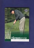 Matt Kuchar 2002 Upper Deck Golf The Green Room (Insert Card) #GR16