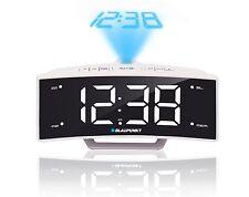 BLAUPUNKT CRP7WH Wecker weiß Radio Uhrzeit Projektion Uhrenradio mit USB ladung