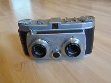 Belplasca Stereokamera mit Tasche Objektiv/Lens Carl Zeiss Jena Tessar 3,5/37,5