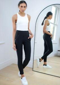 Yu & me PARIS  High Waisted Black Winter Warm Leggings Size Xl/XXl Is 14/16 Bnnt