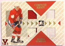 2006-07 ITGU International Ice Complete Jersey Gold Mario Lemieux Vault Red 1/1