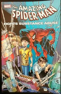 SPIDER-MAN: Fights Substance Abuse (TPB Trade Paper Back) (MARVEL) ~ VF/NM Book