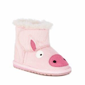 EMU Australia Baby Little Creatures Ugg Boot, 6-12/12-18/18-24MTHS, RRP $59.95