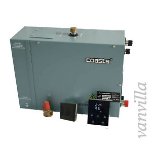 Dampfgenerator Dampferzeuger 3/4,5/6/9/12KW Dampfdusche Dampfgerät inkl. KS100B