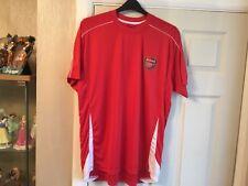 Arsenal Rojo Camisa De Entrenamiento De Tienda Club Manga Corta Talla XXL