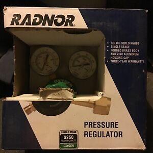 Radnor oxygen regulator g250 medium capacity