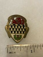 Authentic US Army 59th Artillery DI DUI Unit Crest Insignia G23