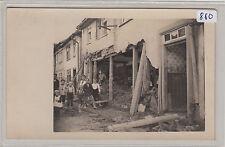 880, Schlotheim Hochwasser Kinder vor zerstörtem Haus, 7 Juli 1926 !