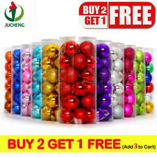 24Pcs/Pack Christmas Tree Balls Home Decorations Baubles Party Wedding Ornament