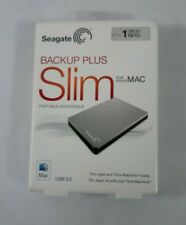 Seagate Slim Backup Plus1TB USB 3.0 External Hard Drive New Factory Sealed