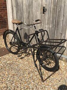 Vintage Antique Falke Newspaper/Butchers Bicycle Post-WW2