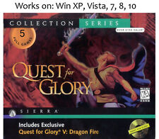 Quest for Glory Collection 1 - 5 PC Game