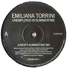 "EMILIANA TORRINI - Unemployed In Summertime (Junior Mixes) (12"") (Promo) (G++/NM"