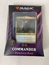 MTG Magic The Gathering Commander 2019 Merciless Rage New Sealed!