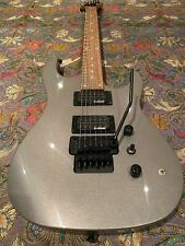 B.C.Rich ASM STD Floyd Rose Electric Guitar Rare Silver +New Planet Waves GigBag