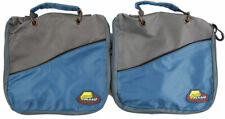 (Lot Of 2) Plano Softsider Worm Wrap Fishing Tackle Bag Blackwave #1098-61