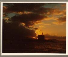 10 inch x 8 color photo US Navy submarine USS Bonefish/USN Captain burial at sea