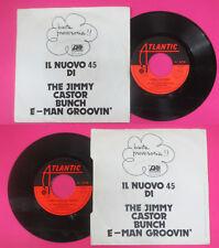 LP 45 7'' THE JIMMY CASTOR BUNCH E-man groovin I love a mellow 1976 no cd mc*dvd