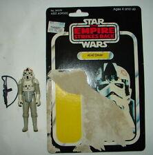 Vintage Kenner Star Wars AT-AT Driver w  ESB 41  bk card back w orig acc  M62