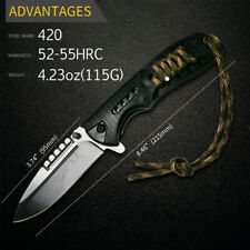 CROCBAIT MK1 Folding Pocket Knife Hunting Camping Fishing Survival Tactical