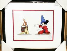 Disney Sericel Limited Animation. Mickey Mouse And Follow Me Box Framed Certfied