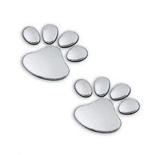 3D Cat Pet Dog Paw Foot Print Car Decal Window Bumper Body Sticker
