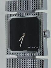 TECHNOS Damen Armbanduhr (332 2512) / Handaufzug / Lederarmband