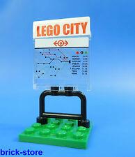 LEGO® City / 60051 City / Eisenbahn  Fahrplan Schild